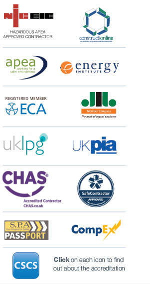 New accreditation logos CHAS